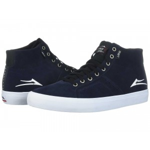 Lakai Flaco High Navy/White Suede