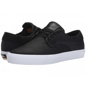 Lakai Riley Hawk Black Oiled Suede