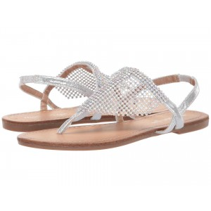 Madden Girl Sharre Silver Metallic
