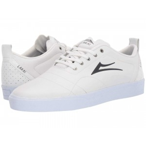 Bristol White/Charcoal Leather