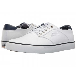 Lakai Porter White Canvas