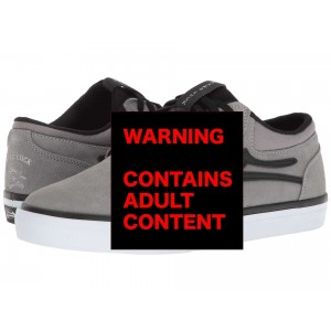 Lakai Griffin Grey Black Suede