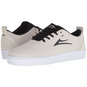 Bristol White/Black Suede