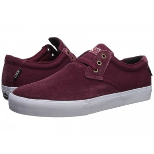 Daly Burgundy Suede