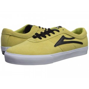 Sheffield Dusty Yellow/Black Suede