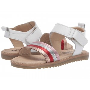R&B Sandal (Toddler/Little Kid) Snow/Rainbow