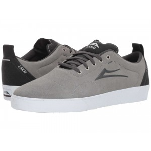 Lakai Bristol Light Grey/Charcoal Suede
