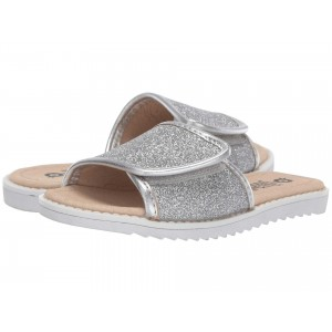Glam Slides (Toddler/Little Kid) Glam Argent/Silver