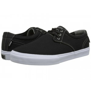 Lakai M.J. Black/White Canvas