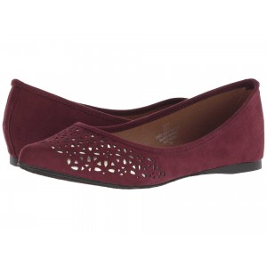 Madden Girl Enzyy Burgundy Fabric