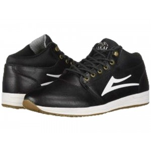 Lakai Griffin Mid Weather Treated Black Leather 1