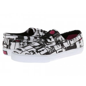 Lakai Camby (Van Styles) Black/White Canvas