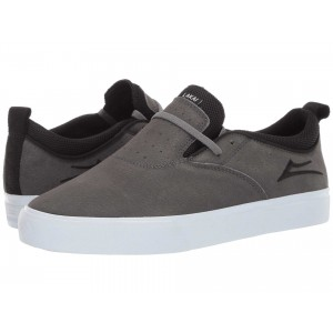 Riley 2 Charcoal Synthetic Nubuck