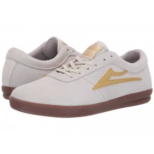 Sheffield XLK White/Gold Suede