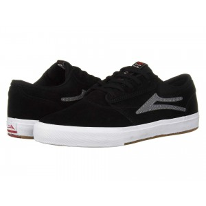 Lakai Griffin Black/Grey Suede 1