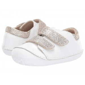 Edgey Pave (Infant/Toddler) Snow/Glam Cream