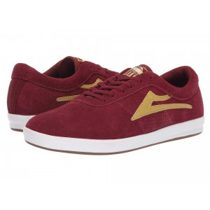 Lakai Sheffield XLK Burgundy/Gold