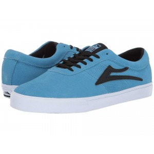Sheffield Light Blue/Black Suede