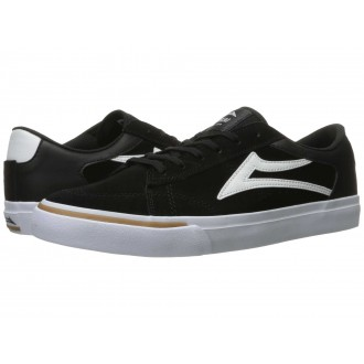 Lakai Ellis Black/White Suede