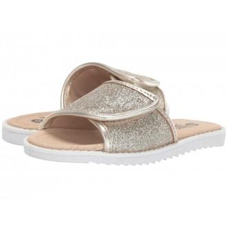 Glam Slides (Toddler/Little Kid) Glam Gold/Gold
