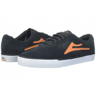 Lakai Sheffield Charcoal/Orange Suede