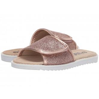 Glam Slides (Toddler/Little Kid) Glam Copper/Copper