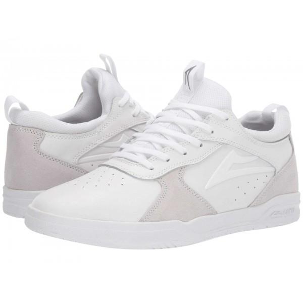 Proto White/White Suede