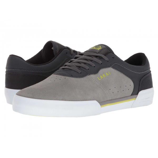 Lakai Staple Grey Charcoal Suede