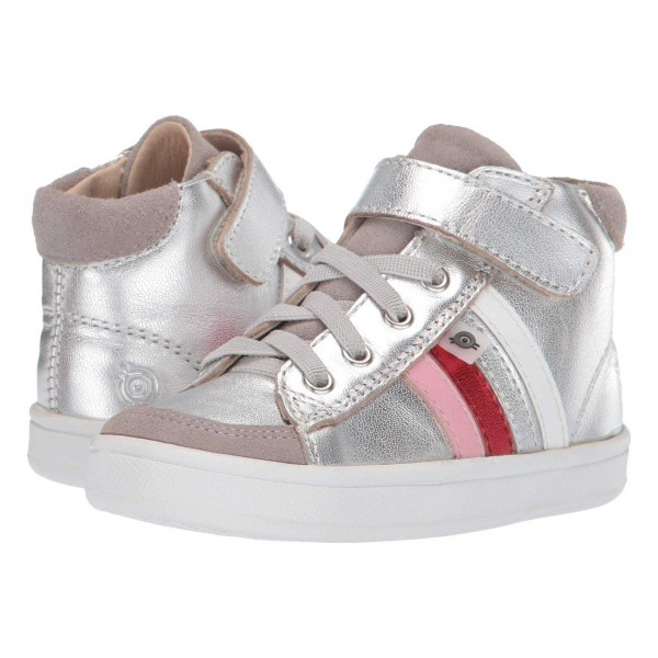 High Top Rb (Toddler/Little Kid) Silver/Pearlised Pink/Red Foil/Silver/Snow