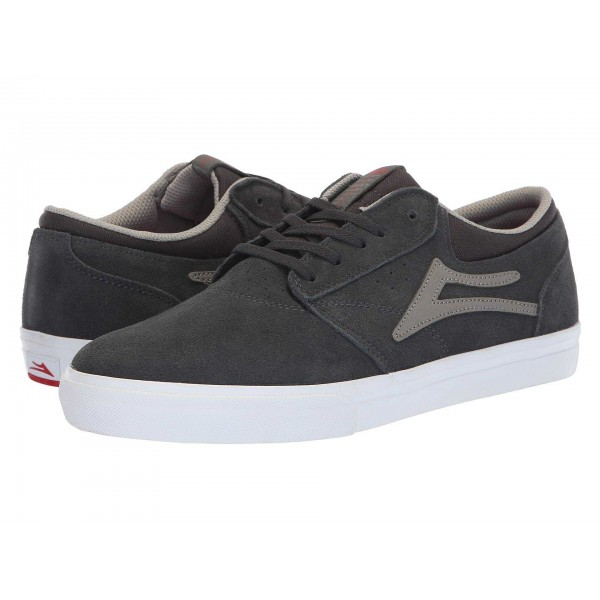 Griffin Charcoal Suede