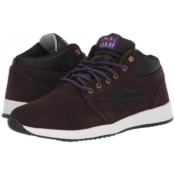 Lakai Griffin Mid Weather Treated Chocolate Suede